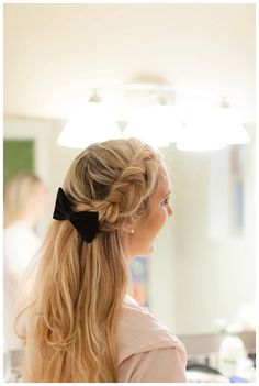 How to Style a Dutch Fishtail Side Braid