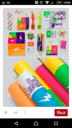 #cool #bold #funky #lightning #festival #design #ideas #pack