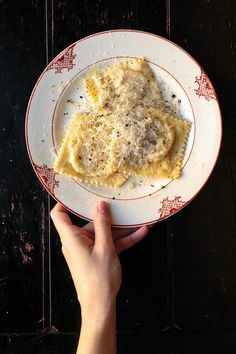 Pear and Cheese Ravioli | 23 Recipes For People Who Are Obsessed With Dumplings