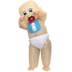 Giant Baby Inflatabl Giant Baby Inflatable Costumes Adult Halloween Fancy Dress Funny Scary Tag someone who should wear this! Christmas Fancy Dress, Halloween Fancy Dress, Adult Halloween, Halloween Christmas, Scary Costumes, Funny Halloween Costumes, Adult Costumes, Funny Fancy Dress, Funny Dresses
