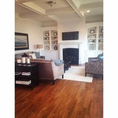 Lovely built ins  Raleigh, NC home #realtor #realestate #lovehome #bestofthebull #raleigh
