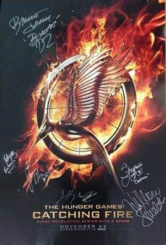 Catching Fire Poster Packs up for Auction