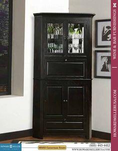 wine and spirit black corner cabinets cornerstone estates