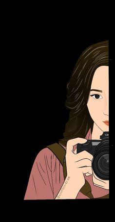 Girl Cartoon Characters, Cartoon Girl Images, Cute Cartoon Drawings, Cartoon Art, Anime Girl Neko, Anime Art Girl, People Illustration, Cute Illustration, Vector Character