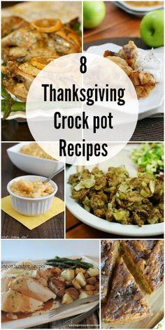 8 Thanksgiving Crock Pot Recipes