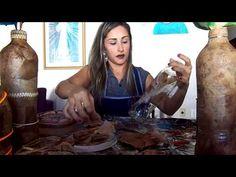 Artesanato com retalhos de filtros de café - YouTube