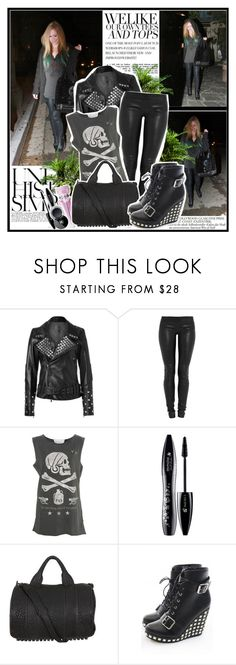 """""""Avril Lavigne"""" by nathaly-14 ❤ liked on Polyvore featuring Une, PLANT, Lot78, Jay Ahr, Tee and Cake, Lancôme, Wild Rose, Alexander Wang, Abbey Dawn and Chanel"""