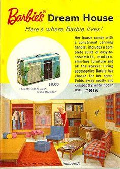 New Dream Estate Fashion Doll House  Barbie