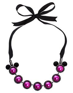 Enlarge Minnie Mawi By Disney Couture Minnie Necklace