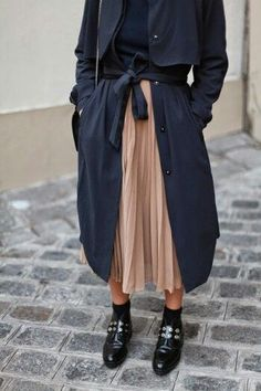 Mac and midi skirt