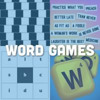 Fun and challenging word games that promote social interaction and group discussions. Lots of ideas for both individuals and groups alike!
