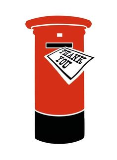 Post Box - Press Notes greeting card