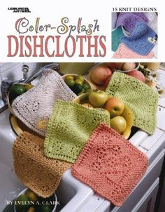 knitted dishcloths - Google Search