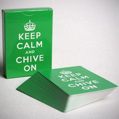 Keep Calm Playing Cards