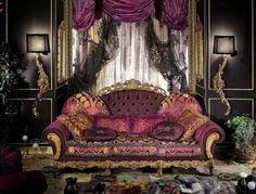 The boudoir...