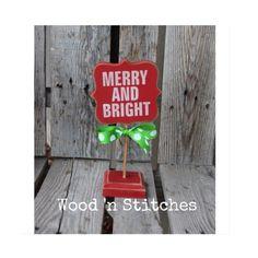 Christmas JOY snowman wood BLOCK SET primitive by jodyaleavitt