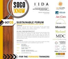 SOCO in the Know: Sustainable Forum « IIDA Rocky Mountain Chapter IIDA Rocky Mountain Chapter
