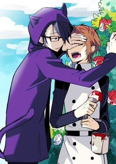 Art by yuzuru86 | Yata and Fushimi