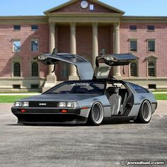 This may just be the baddest Delorean in the world. I'd drop a LS7 in there. Known fom the Back to The Future movies