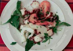 Antipasto di Mare or Seafood - Primi Piatti at Trattoria da Carmine