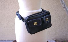 Vintage Coach Turnlock Fanny Pack or Hip pouch, perfect festival bag