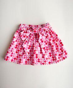 {Pink Polka Dot Skirt - Infant, Toddler & Girls by Trendy Ties}