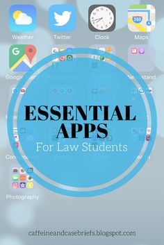 Essential Apps For Law Students   Caffeine and Case Briefs
