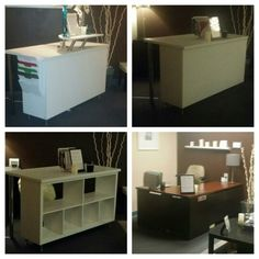 dyi reception desks Google Search CR Office Pinterest