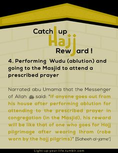Reward of Hajj