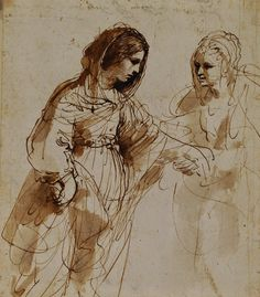 Guercino - The Visitation, c. 1632