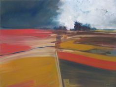 Walking the line Oil on canvas 110cm x 78cm