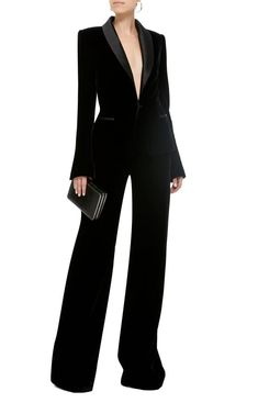 Suit Fashion, Fashion Outfits, Womens Fashion, Tall Women Fashion, Ladies Velvet Suit, Costume Smoking, Classy Outfits, Casual Outfits, Look Blazer