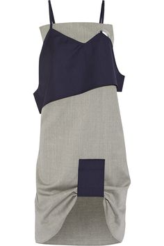 JACQUEMUS Layered Wool Dress. #jacquemus #cloth #dress