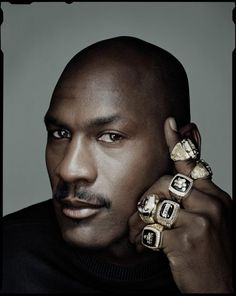 Michael Jordan by Dan Winters