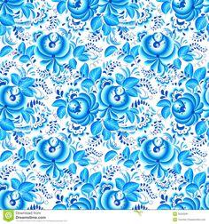 "vintage ""blue and white floral"" wallpaper - Google'da Ara"