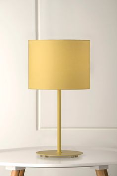 1108 Littlewhy Table Lamp in Buttercup Yellow