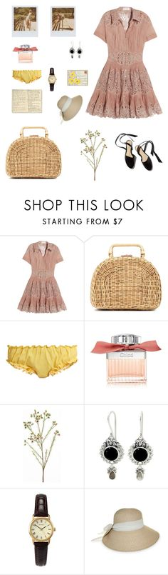 """The Strand"" by isabellakoos ❤ liked on Polyvore featuring Zimmermann, Band of Outsiders, Kayu, Loup Charmant, Chloé, Moleskine, NOVICA, Sekonda and Nine West"