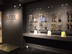 A view of our Project Ready Hardware inside our NYC Showroom!   http://sabaxter.com/collections/project-ready/