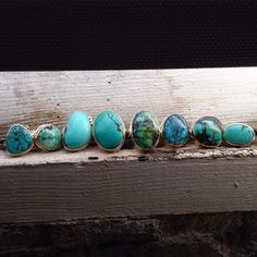 It's turquoise Tuesday at the #jamiejosephjewelry studio #turquoisetuesday #dscolor #handmade #hotoffthebench