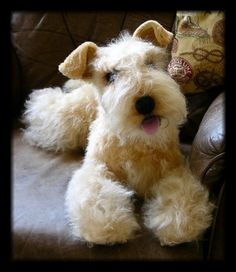"Looks SOOO real! Lakeland Terrier ""Kara"" by Tammy Hendricks"