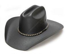 Compra en nuestra tienda online este sombrero vaquero negro de ala ancha, fabricado con lienzo duro y con cinta de cuero, para llevar todo el año y para bailar country o line dance. Black canvas cowboy hat at the best price pure western style! Sombrero Cowboy, Color Beige, Unisex, Cowboy Hats, Men, Outfits, Fashion, Black Canvas, Black