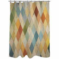 Idg Argyle I Shower Curtain Size: 71 inch Large x 74 inch W Shower Curtains Walmart, Shower Curtain Sizes, Bathroom Shower Curtains, Curtain Shop, Curtain Fabric, Beautiful Curtains, Sweet Home Alabama, Red Bricks, Decor Crafts