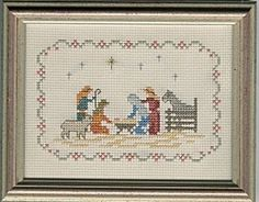 Cross Stitch Navitity - beautiful in its simplicity