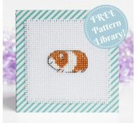 Lots of free cross stitch patterns - courtesy of Lucie Heaton