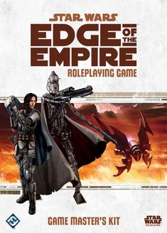 Cover of Star Wars: Edge of the Empire Game Master's Kit.