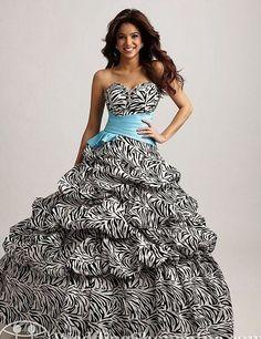 Zebra Grad Dresses 121