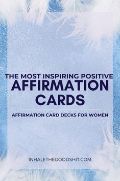The Most Inspiring Positive Affirmation Cards - Affirmation Card Decks For Women Positive Affirmations For Anxiety, Wealth Affirmations, Law Of Attraction Affirmations, Positive Quotes, Law Of Attraction Love, Attraction Quotes, Wealth Quotes, Find Quotes, Affirmation Cards
