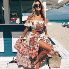 In case you were needing some weekend inspo  @tashoakley in our vaycay fave Hotel Paradiso set