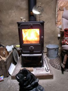 Morso 1410 Squirrel, heats up to 1000 sq ft and is compact.