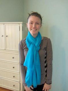 Finally - How to tie scarves with videos! Thank you!!